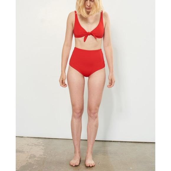 3ed0ddc44fcb5 Mara Hoffman Swim   Lydia High Waisted Bikini Bottom   Poshmark
